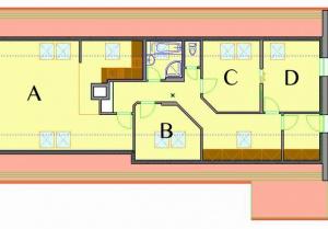 dispozice apartmánu